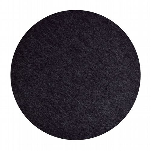 Vegan Felt Placemats - Pack Of 2 - Graphite